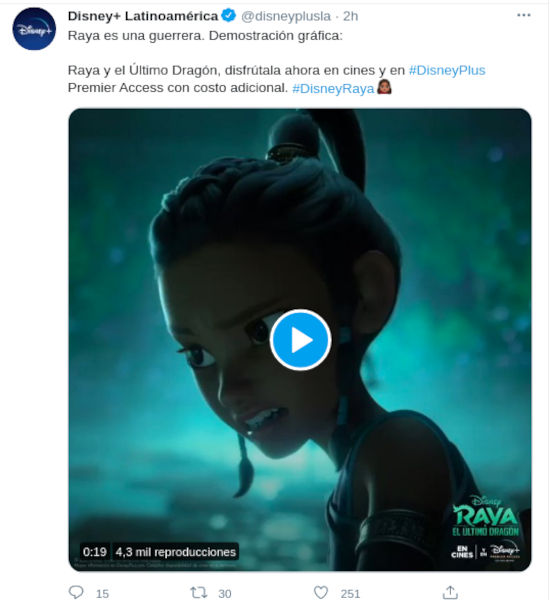 ¿Cómo ver Raya y el último Dragón de Disney?