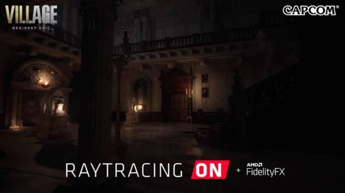 Resident Evil 8 Ray Tracing