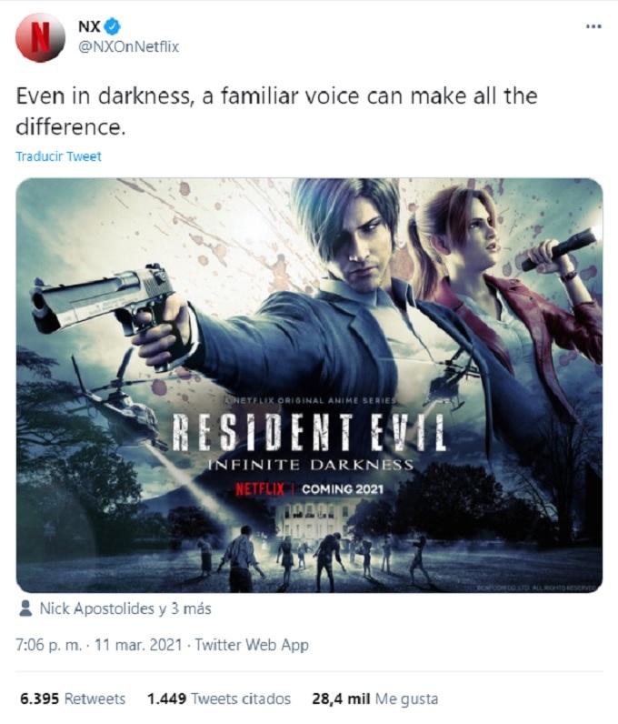 Voces serie Resident Evil
