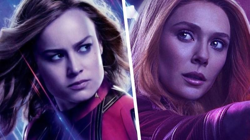 Capitana Marvel es más poderosa que Scarlet Witch, asegura Brie Larson
