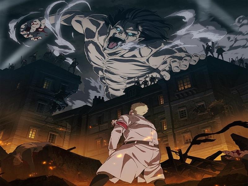 shingeki, attack on titan, anime