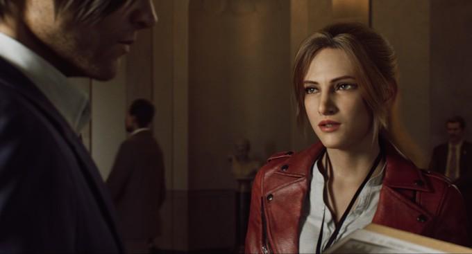 Claire y Leoin en la nueva serie de Resident Evil de Netflix