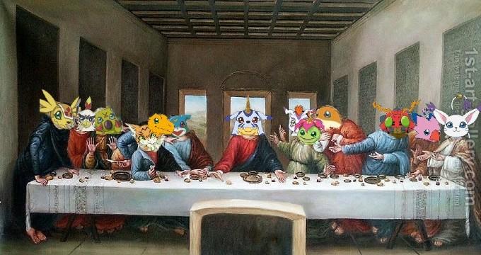 Digimon Ultima Cena