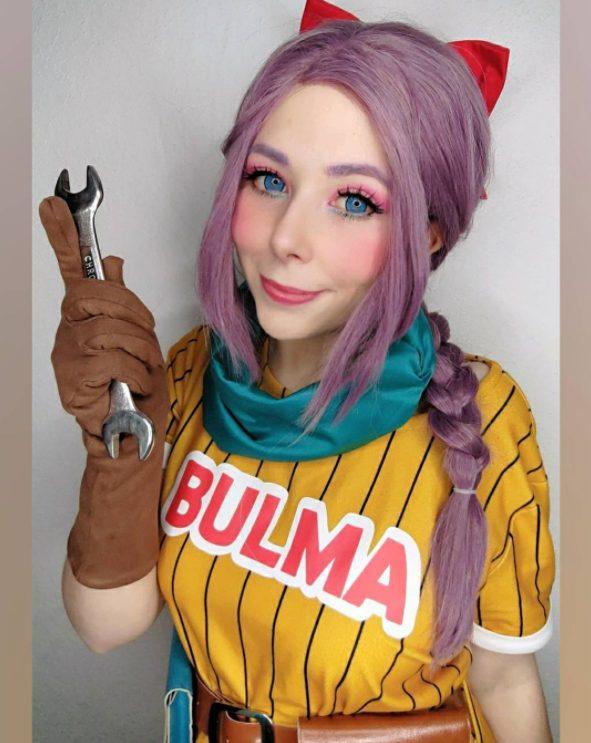 cosplay, mokkacherry, bulma