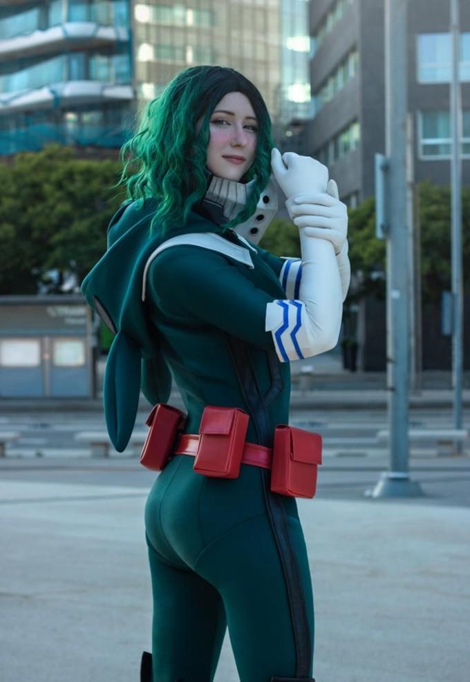 cosplay midoriya mujer my hero academia