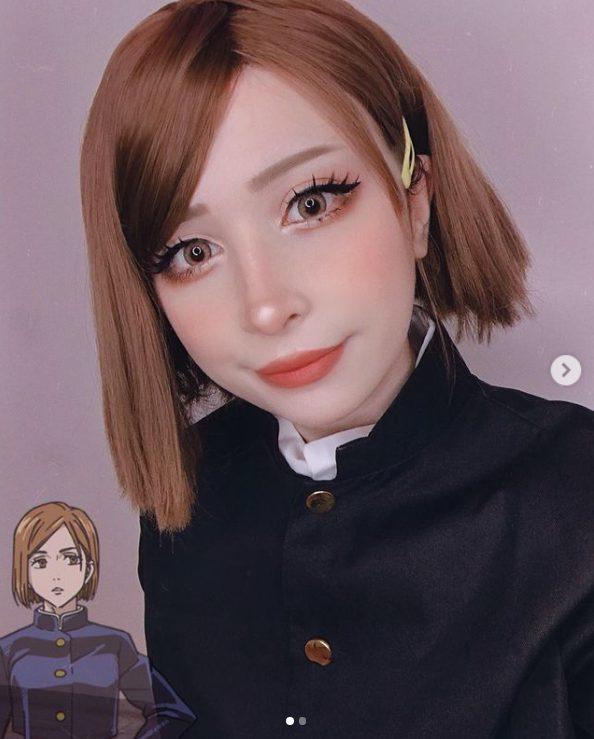 Jujutsu Kaisen Nobara Kugisaki cosplay.