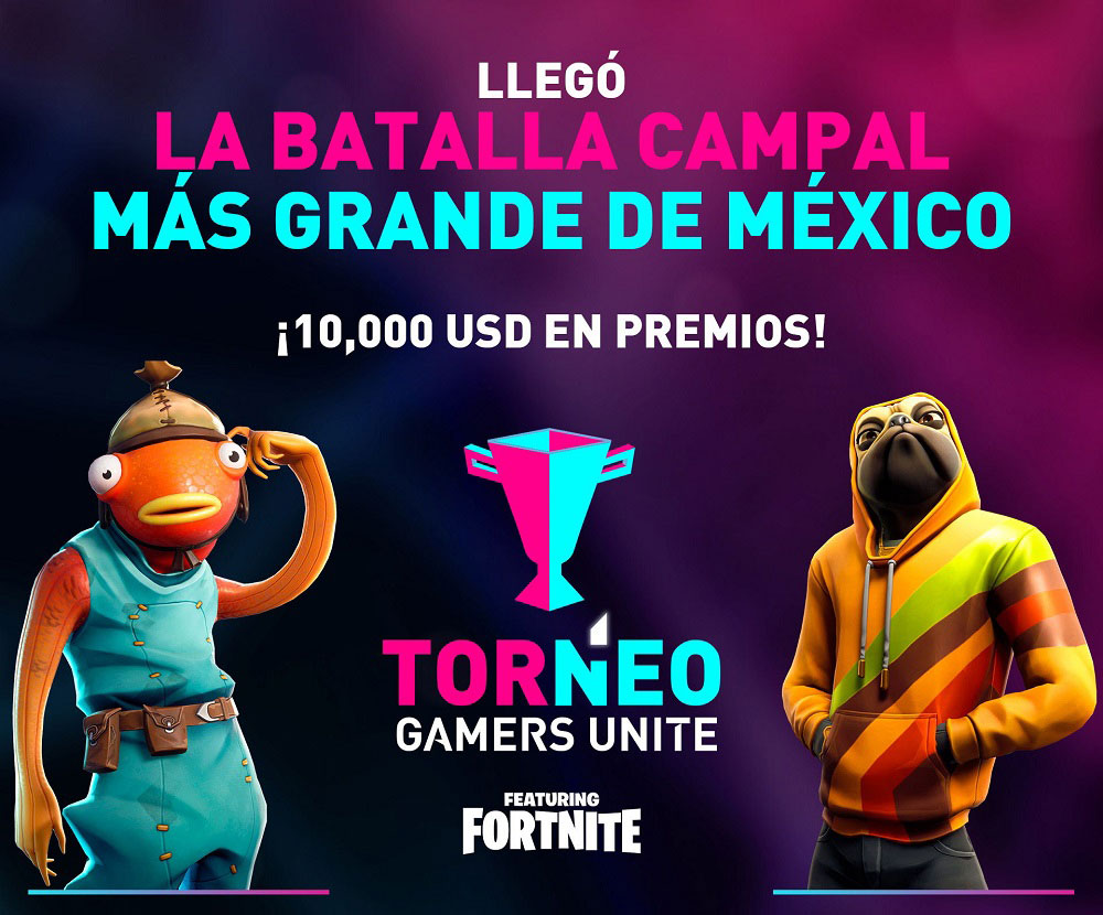 torneo fortnite, gamers unite, esports