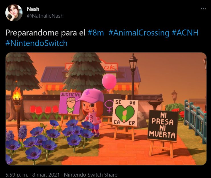 switch, animal crossing, mujeres, 8m