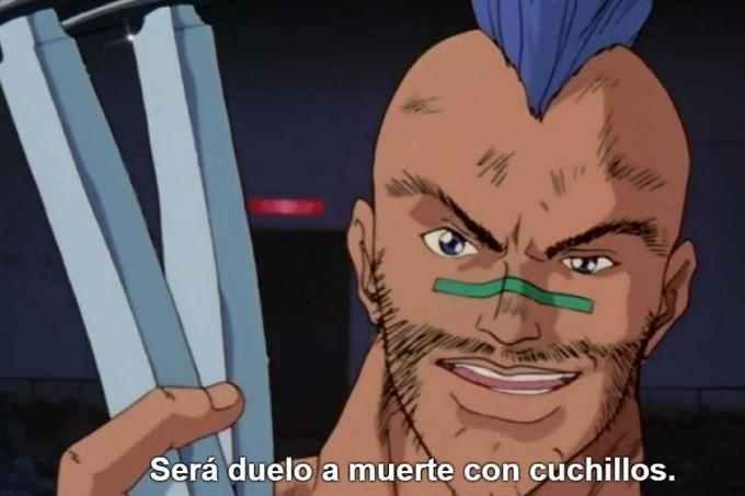 Yu Yu Hakusho Duelo a muerte con cuchillos