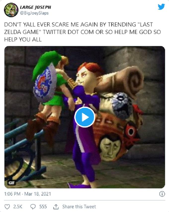 last zelda game comment