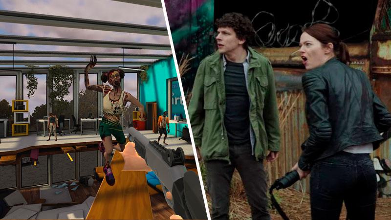 ¡Dispara dos veces! Zombieland ahora tendrá juego VR