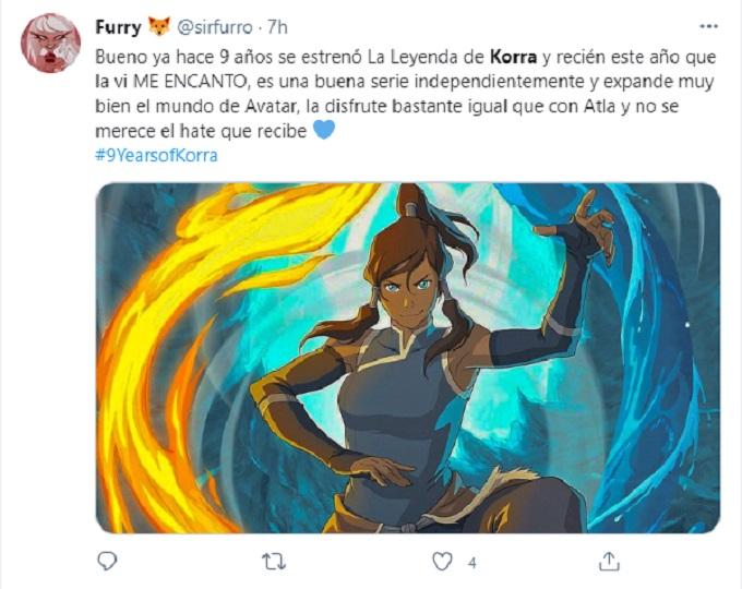 Recuerdo de Korra