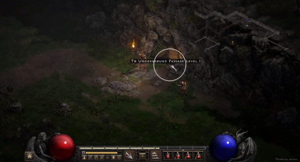 Diablo II interfaz