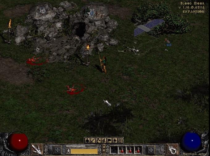 Diablo II retro