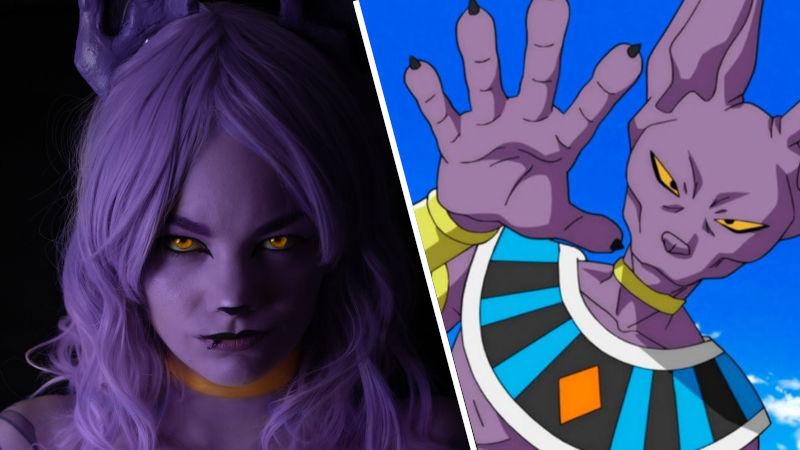 Bills de Dragon Ball Super libera el poder femenino en este increíble cosplay