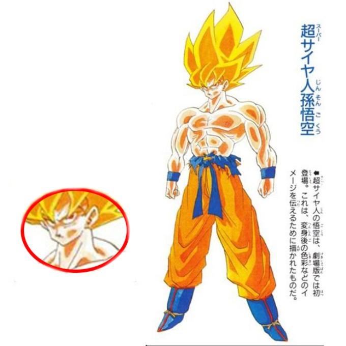 Dragon Ball super saiyajin ojos rojos