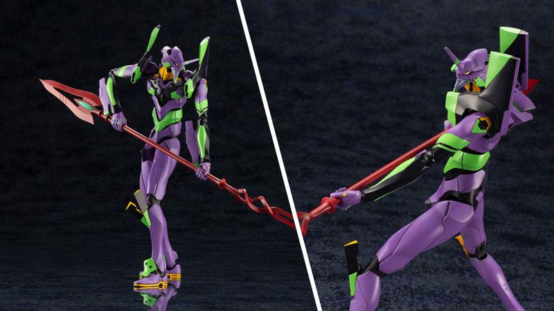 Evangelion: Súbete al robot con esta figura del EVA-01