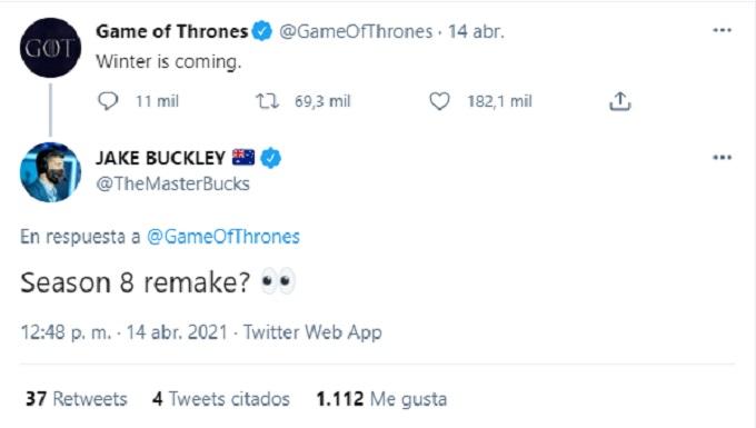 Game of Thrones cometario