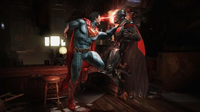 Injustice Marvel