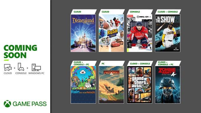 GTA V en Xbox Game Pass abril
