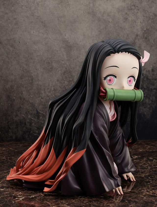 Nezuko de Kimetsu no Yaiba consigue figura gigante y cara