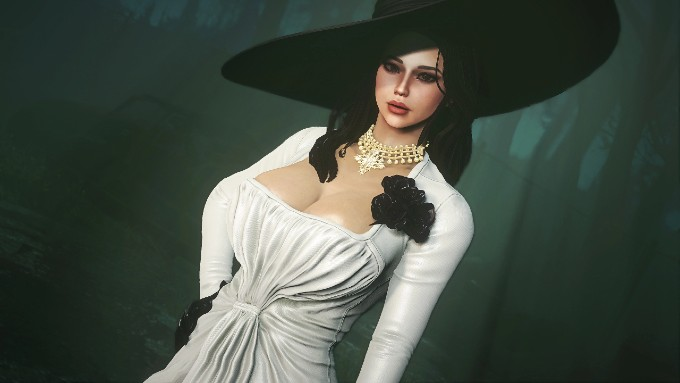 Lady-Dimitrescu-Fallout-4