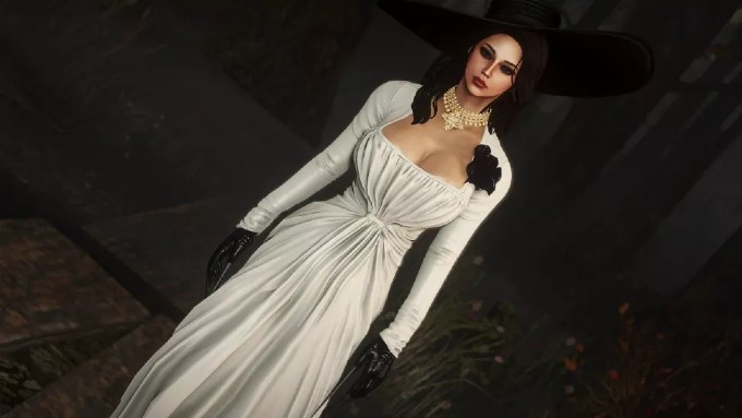 Lady Dimitrescu Fallout 4