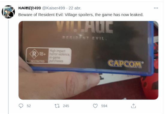 Cuidado con los spoilers: Resident Evil Village ya se está vendiendo
