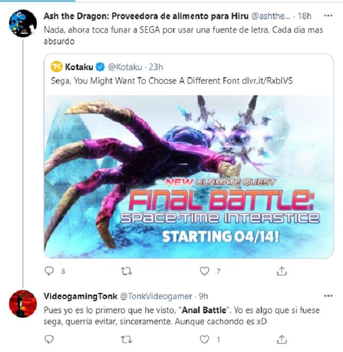 Anal battle Sega