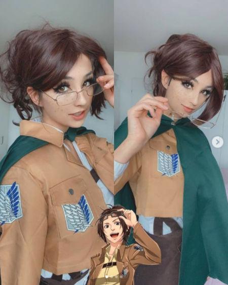 Shingeki no Kyojin: Hange Zoë consigue un buen cosplay