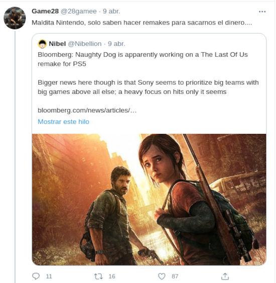 El remake de The Last of Us enloquece a los fans