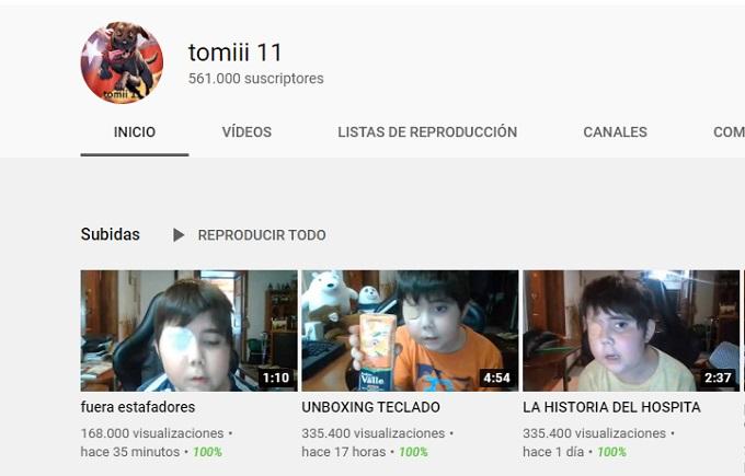 Suscriptores de Tomiii 11