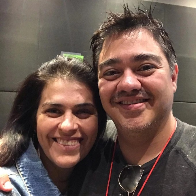 Toni Rodriguez y Lalo Garza