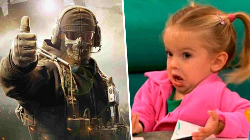 WTF?! Fan mexicano de Call Of Duty nombra Warzone a su hijo
