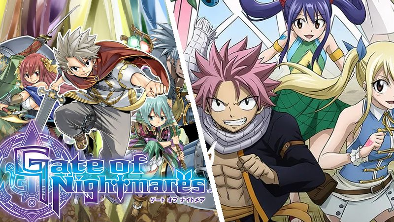 Gates of Nightmare: Fairy Tail une su arte a Square Enix para su nuevo RPG