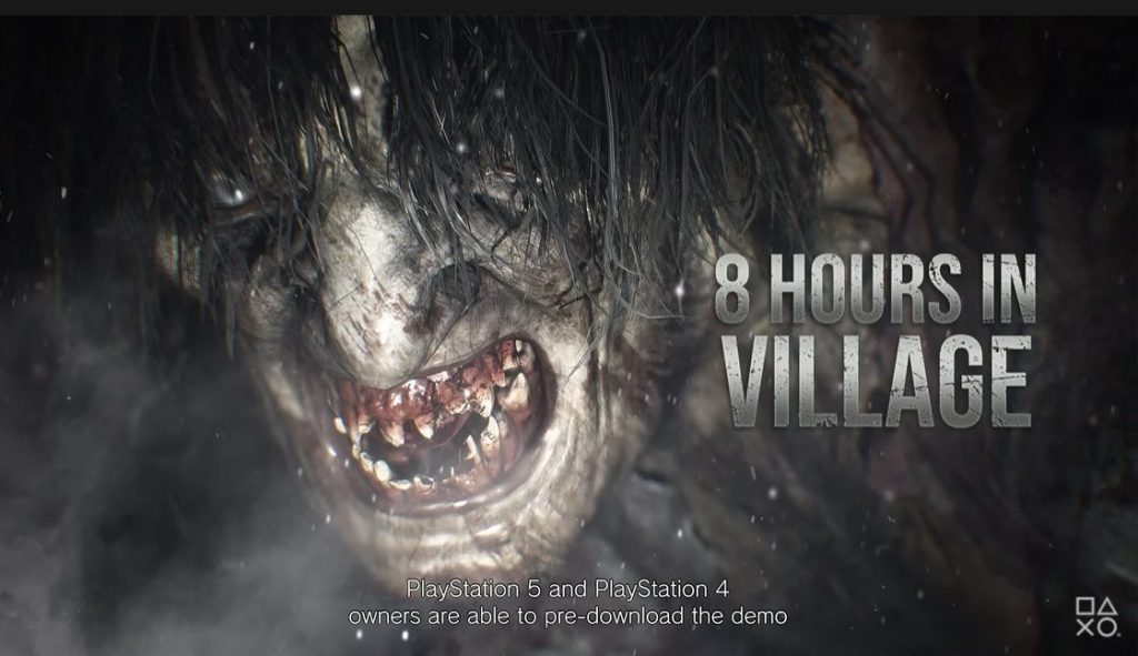 resident evil village, 8 hours in village