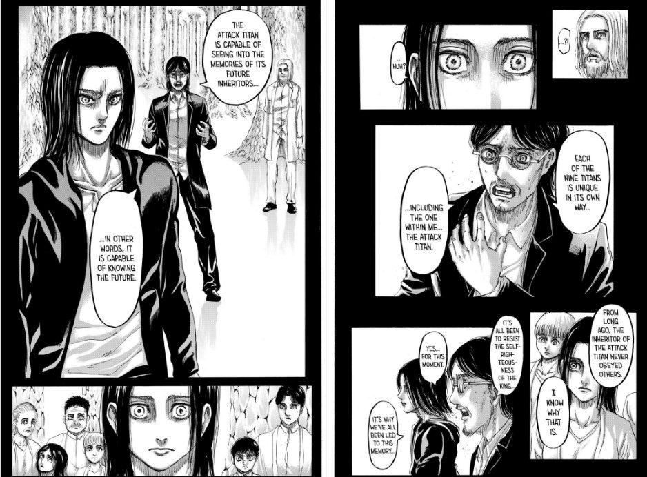 Shingeki no Kyojin Final Manga 139 spoilers Hajime Isayama
