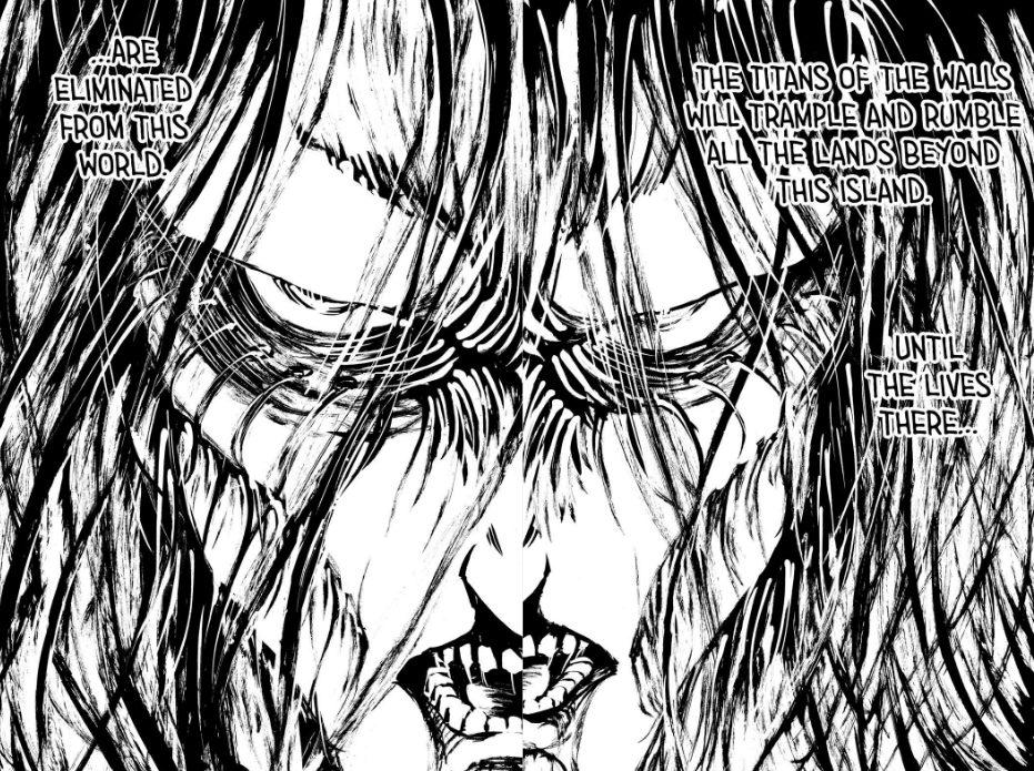 Attack on Titan Final Manga 139 eren jaeger