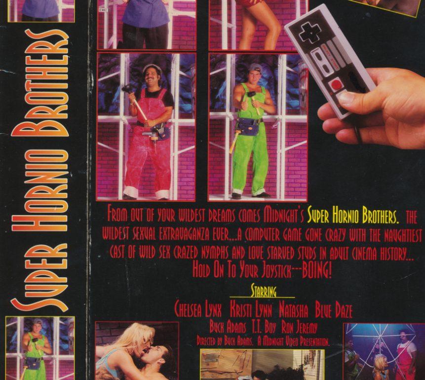 Nintendo Super Hornio Brothers Mario Brothers porn movie