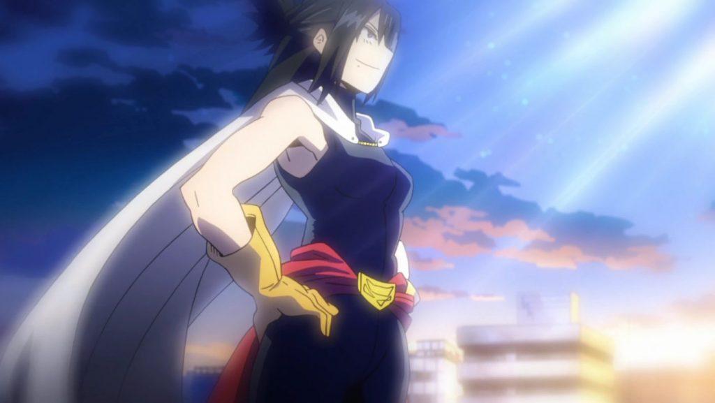 Muerte Arco Guerra Boku no hero Academia Nana Shimura