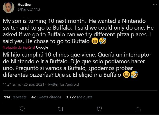 tweet pizzeria, pizza, nintendo switch, buffalo