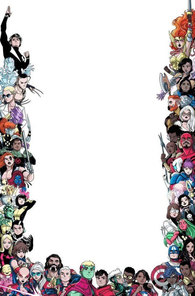 Marvel's voices: Pride portada orgullo LGBT LGBTQ+