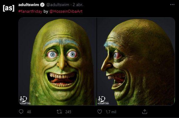 Rick and Morty tweet serie temporada 5
