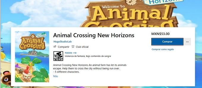 Animal Crossing Fake