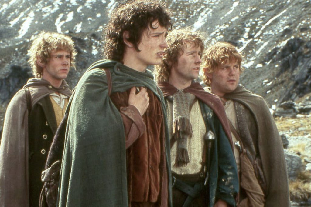 hobbits, lord of the rings