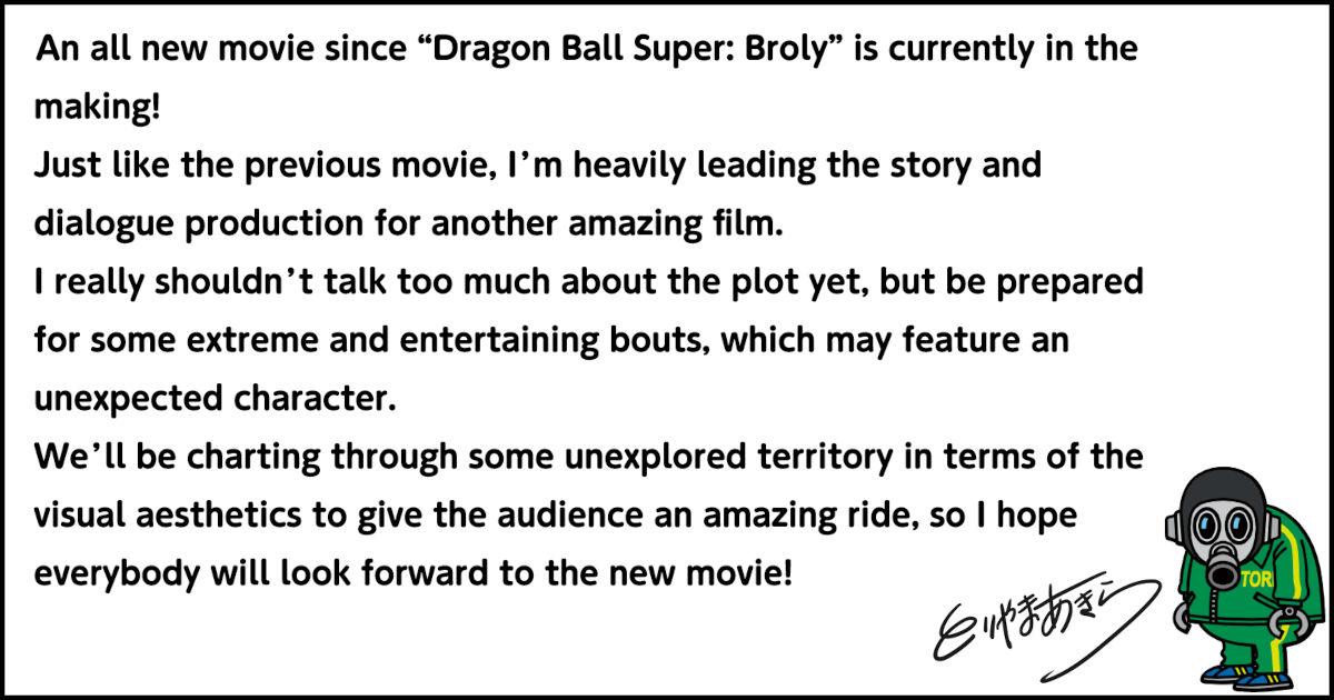 La película de Dragon Ball Super tendrá una historia original
