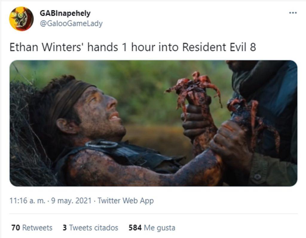 Resident Evil Meme Ethan Manos