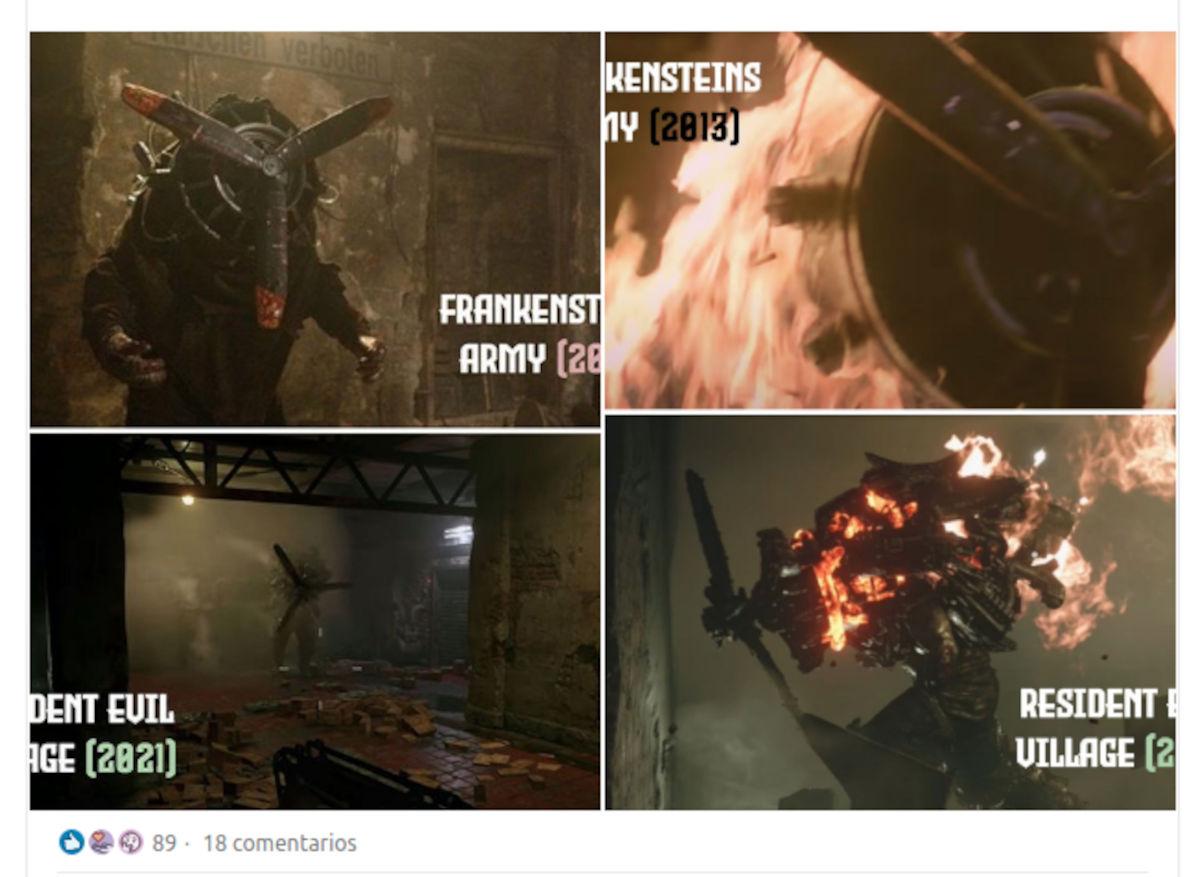 Acusan a Resident Evil: Village de plagio de una película