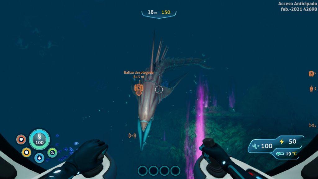 Subnautica Below Zero Monstruo