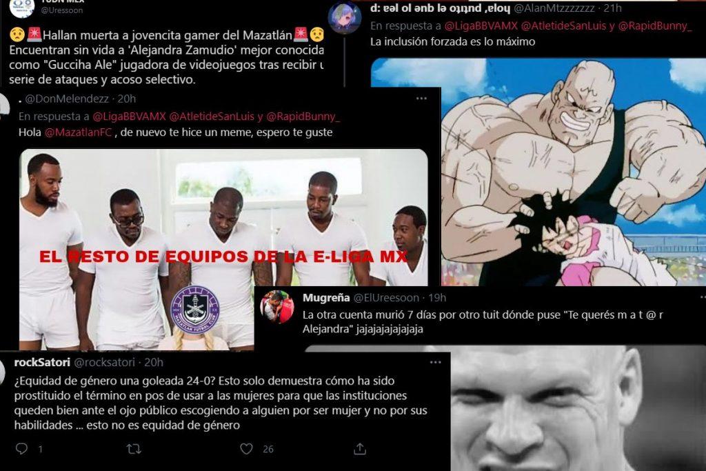 comentarios machistas contra Gucciha ale del Mazatlán Fc por violencia machista